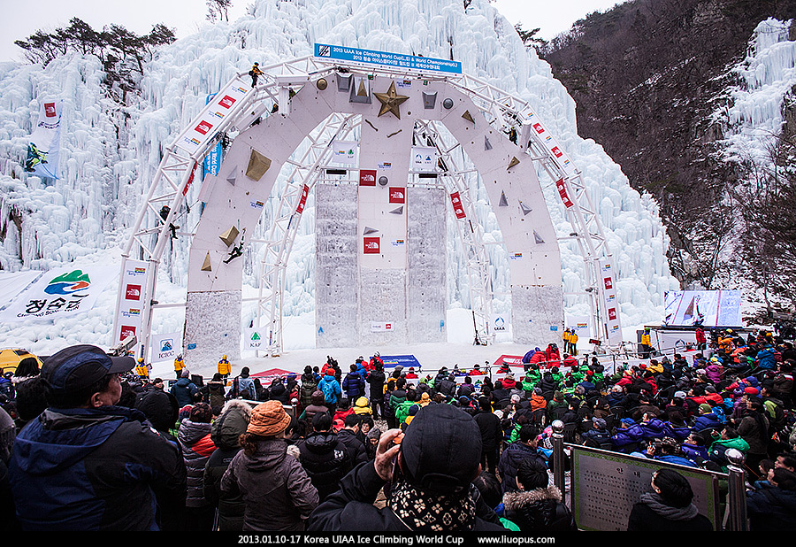 2013.01.10-17 Korea UIAA Ice Climbing World Cup - 急冲人鱼 - 若批评不自由,则赞美无意义。